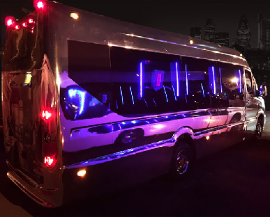 Party Bus Hire in Manchester, Liverpool